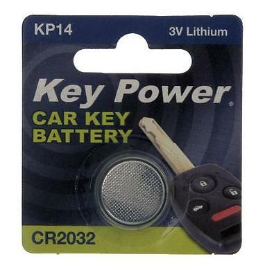 New Key Power 2032 Car Key Cell Battery 3V Lithium