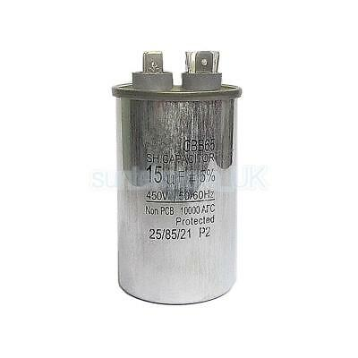 450VAC 15uF Motor Run Start Capacitor for Home Air Conditioner / Industry