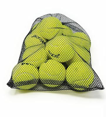 48 X Official Licensed Sport Dog Cat Pet Soft Toy Yellow Bag Tennis Balls