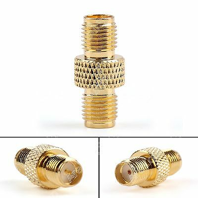 1Stk Adapter RP-SMA Female Plug To SMA Female Jack RF Connector Reticulated F/F