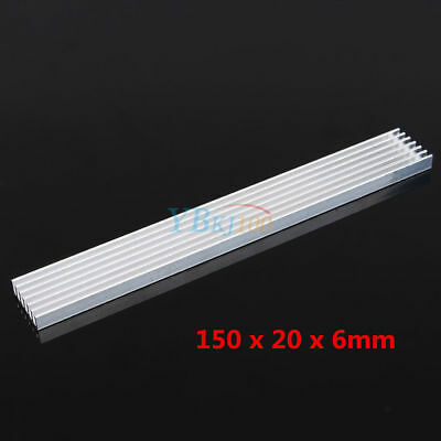 150*20*6mm High Power LED Aluminum Heat Sink for LED Emitter Diodes