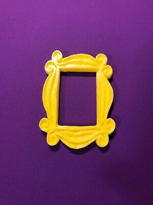 Friends Frame Tv Show Yellow Peephole Frame Monicas Door Great