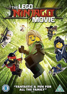 The Lego Ninjago Movie DVD. New and sealed. Free postage.
