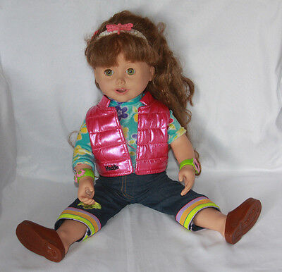 "Maddie Electronic Talking Doll 19"" With Let's Play Arts & Crafts Adventure Pack"