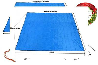 Water Proof Beach Blanket, Picnic Camping Blanket Mat (215CMx315CM) Strong...