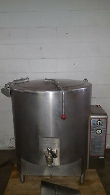 Vulcan GL-60 60 Gallon Steam Jacketed Kettle Free Standing Natural Gas Tested