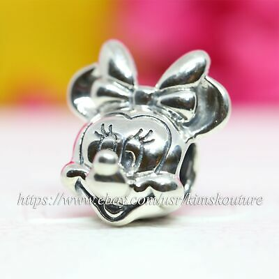 Authentic Pandora Disney Minnie Portrait Sterling Silver Charm 791587