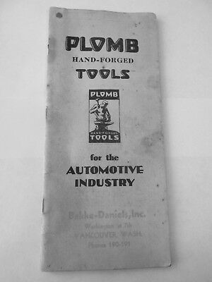 PLOMB TOOL CO LOS ANGELES CA CATALOG 1936 #15 A 64 PAGES PHOTO COPY
