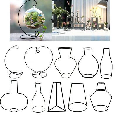 Display Stand / Flower Pot Stand Holder Iron Stand for Hanging Glass Terrarium