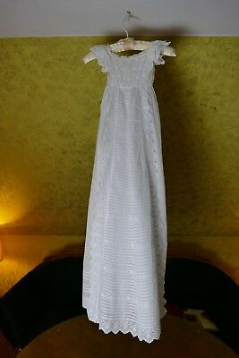 1910 antikes Taufkleid, Puppe, antique christening dress, antique gown, Kleid