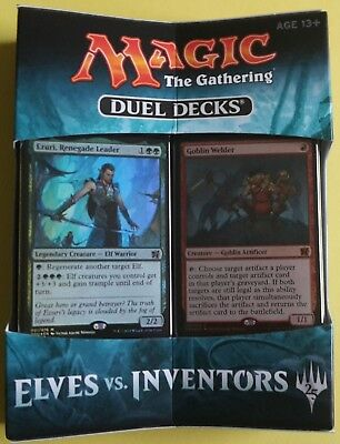 Magic | Duel Decks Elves vs. Inventors | Englisch | 2 Decks = 120 Karten | MTG