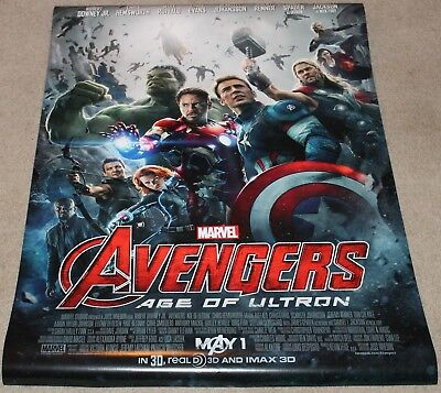 Avengers: AGE OF ULTRON - DS Original Movie Poster - NEAR MINT and NEW