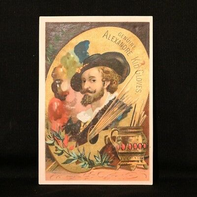 Alexandere Kid Gloves Artist Trade Card - Elmira NY