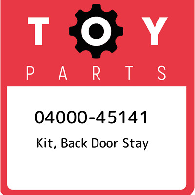 04000-45141 Toyota Kit, back door stay 0400045141, New Genuine OEM Part