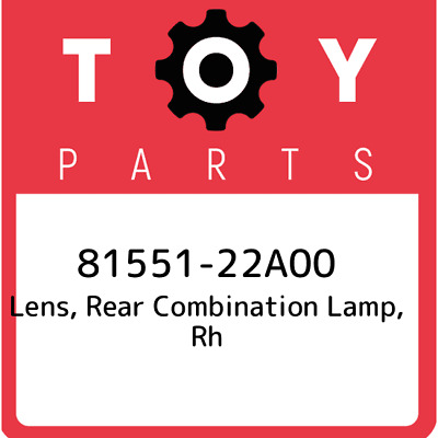 81551-22A00 Toyota Lens Body, New Genuine OEM Part