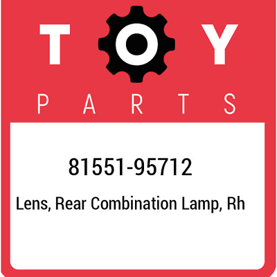 8155195712 Toyota Lensbody 81551-95712, Genuine OEM Part