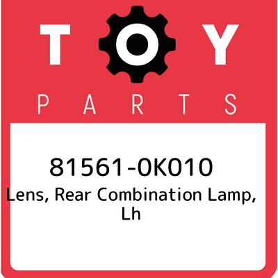 81561-0K010 Toyota Unit Assy Rear, New Genuine OEM Part