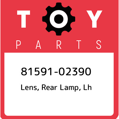 8159102390 Toyota Lensbody Rr Lamp 81591-02390, Genuine OEM Part