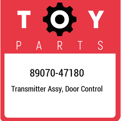 Toyota 89070-42820 Door Control Transmitter Assembly