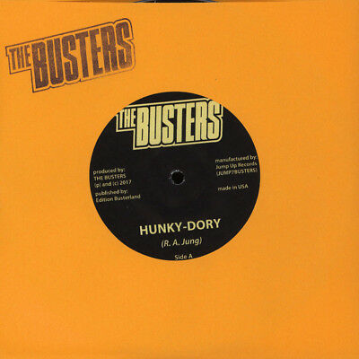 Busters, The - Hunky Dory & Ska Bang 87 (red vinyl,US import)