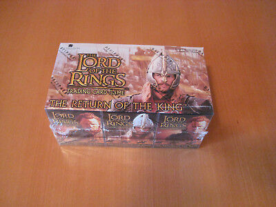 LOTR CCG Starter Deck Box (12 Packs) The Return of the King orginal verschlossen