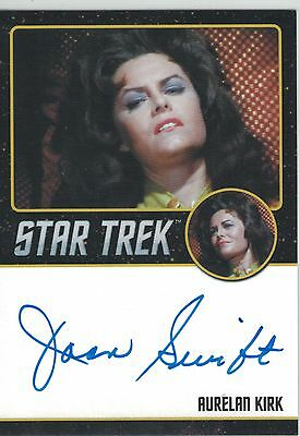 Star Trek TOS 50th Anniversary (2016) Joan Swift autograph