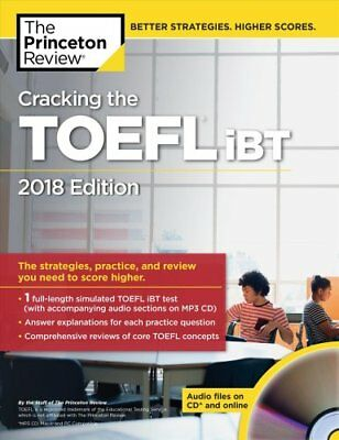 Cracking the TOEFL iBT with Audio CD: 2018 Edition 9781524757847