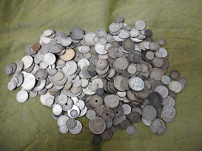 #cc8. About 2.2 Kilograms Of World Silver Coins