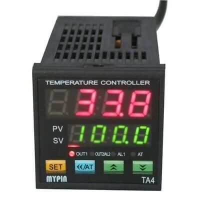 F/C PID Temperature Controller Dual Display Digital Programmable Solid State NEW
