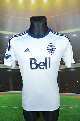 Vancouver Whitecaps Adidas 2015 Football Shirt (15-16Y S) Jersey Top Trikot Vtg