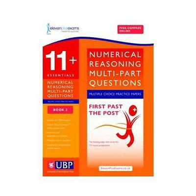 11+ Numerical Reasoning for CEM: Multipart Multiple Choice: Book 2 by ElevenP...