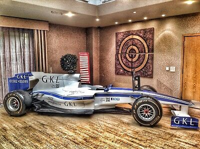 FORMULA ONE - Full Size F1 Car & Simulator Established Business For Sale