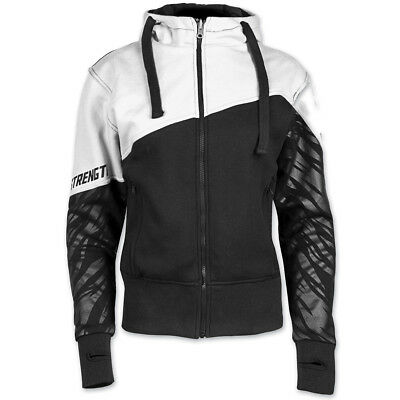 Speed and Strength Women's Cat Out'a Hell Armored White/Black Hoodie, 4XL