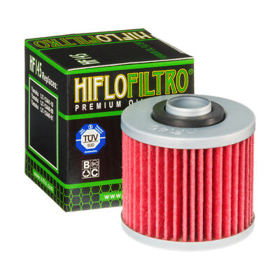 Hiflo HF145 Motorcycle Replacement Premium Engine Oil Filter