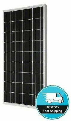 150 WATT MOTORHOME CAMPER SOLAR PANEL KIT Dual battery Epsol LCD Regulator 150w