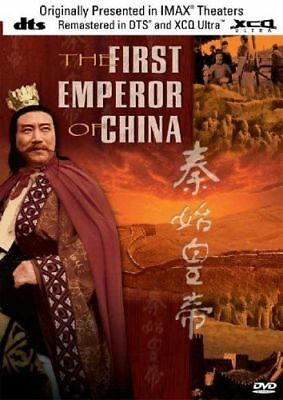THE FIRST EMPEROR OF CHINA DVD Christopher Plummer Imax DTS Chinese History UK