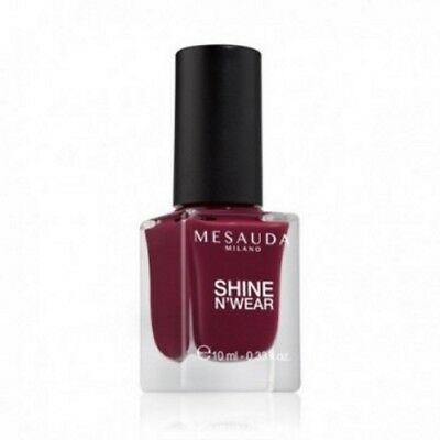 Smalto Per Unghie Shine N'Wear 202 Bordeaux 10 ml Mesauda