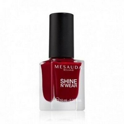 Smalto Per Unghie Shine N'Wear 204 Rouge Laque 10 ml - Mesauda