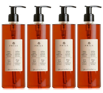Prija Seife mit Ginseng Soap Wellness Spa  4x 380ml Flakon Kosmetik