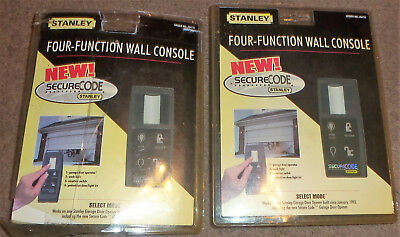 Stanley Secure Code 4 four Function Wall Console Garage Door Control Pad 49479