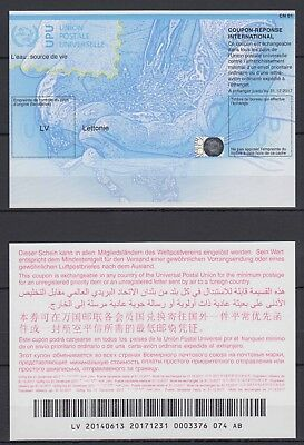 Latvia - International Reply Coupon (UPU) - Mint (Valid till 2017)