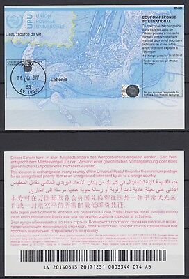 Latvia - International Reply Coupons (UPU) - Postmarked (Valid till 2017)