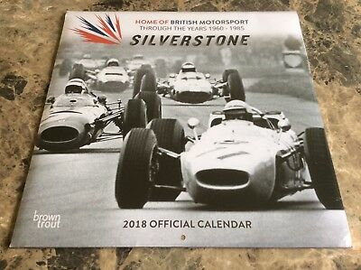 Fathers Day Gift. Silverstone British Motorsport Official Calendar 2018. Sealed