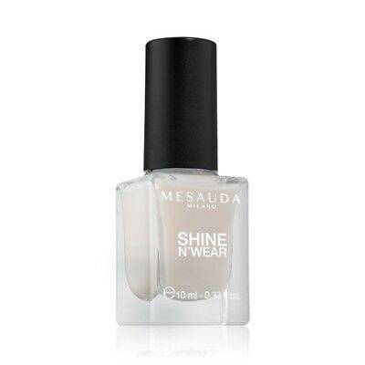 Smalto Per Unghie Shine N'Wear 234 Milky White 10 ml - Mesauda