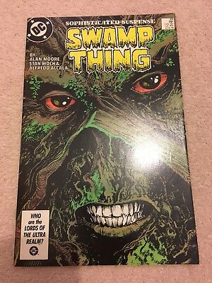 Saga Of The Swamp Thing #49 - 1St Appearance Of Dark Justice League - Vf+