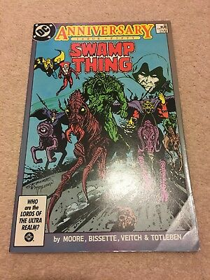 Saga Of The Swamp Thing #50 Appearance Of Dark Justice League - Fn+
