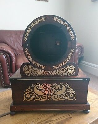 Rosewood Georgian Fusee Clock Case