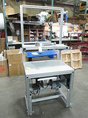 """Hydraulic Lift Table 36""""W x 26""""D x 37-48""""H, 115V, On Casters"""