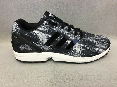 timeless design 5a22f bbd94 ADIDAS B72928 MENS ZX Flux Shoes Black/White #BR1