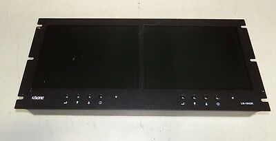 TVOne LM-1042R Dual 10.4in Color LCD Multimedia Monitor Rackmount